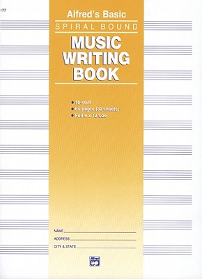 Alfred's Basic Music Writing Book By Alfred Publishing Co., Inc. (COR)